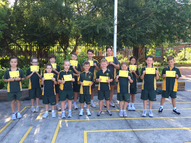 Grade Awards Term 1 Week 2 2016