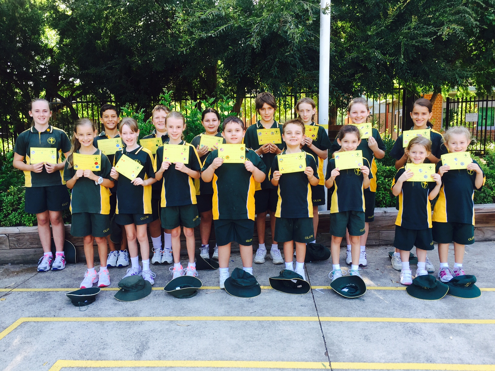 Grade Awards Term 1 Week 4 2016
