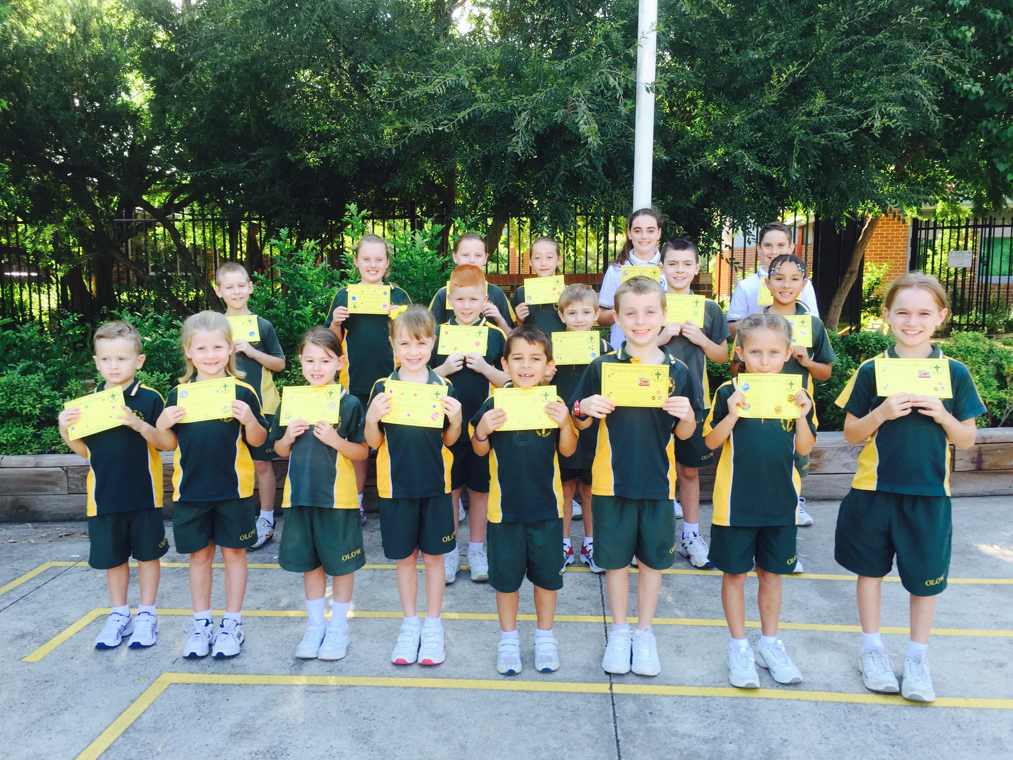 Grade Awards Term 1 Week 5 2016