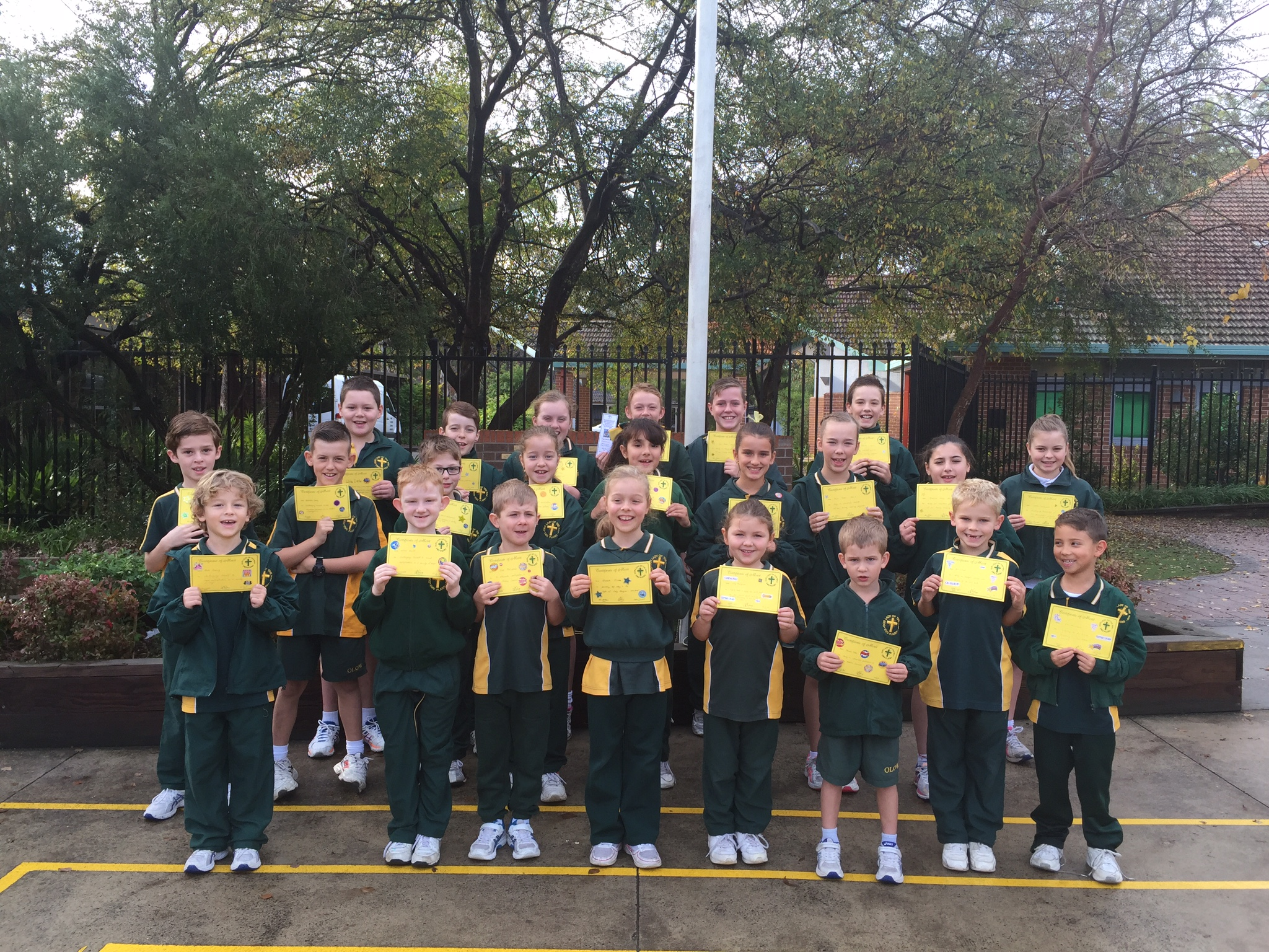 Grade Awards Term 2 Week 8 2016