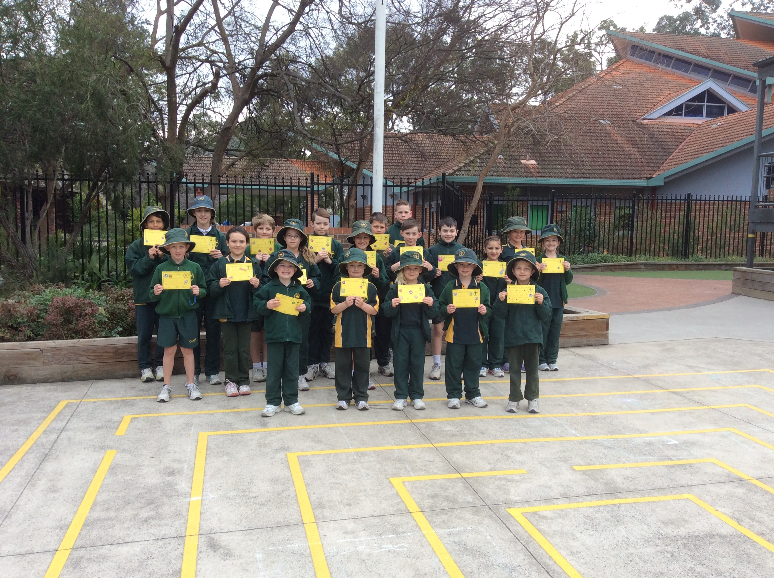 Grade Awards Term 3 Week 2 2016