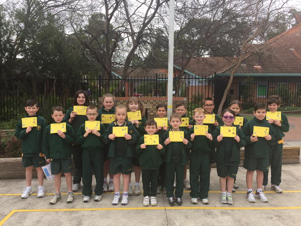 Grade Awards Term 3 Week 5 2016