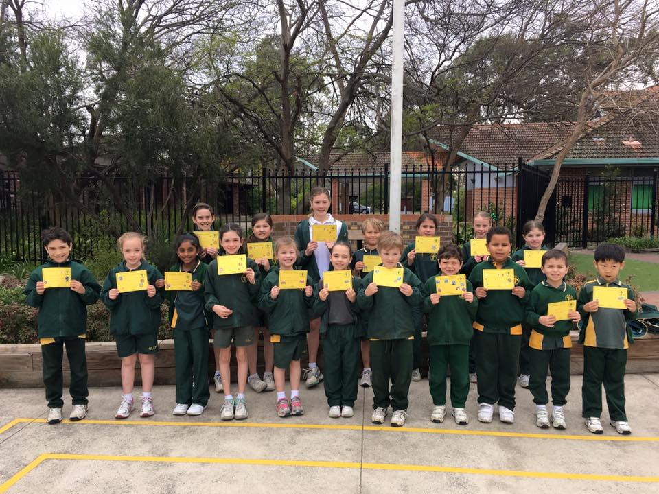 Grade Awards Term 3 Week 6 2016