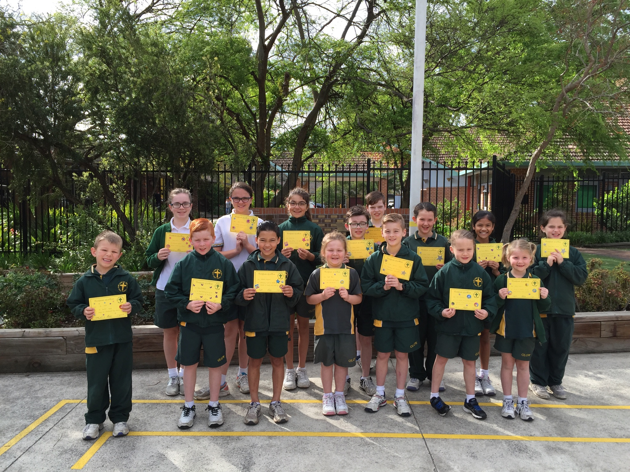 Grade Awards Term 3 Week 8 2016
