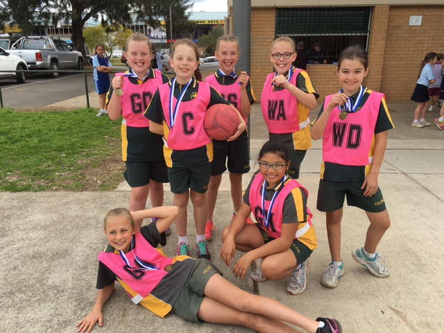 11 years netball winners