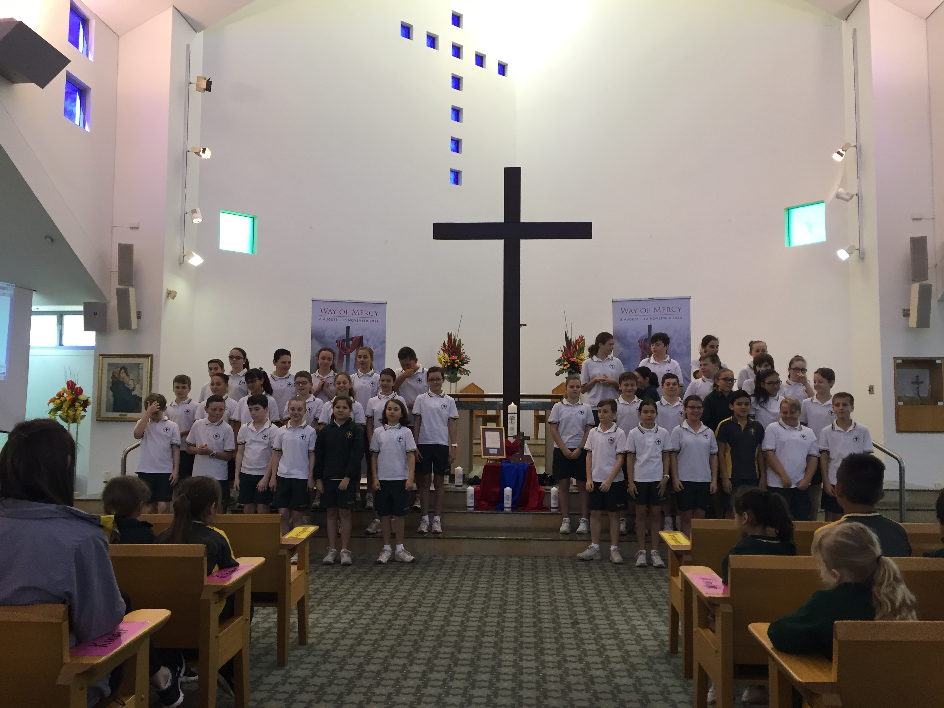 Way of Mercy Cross and Relics Yr 6 2016